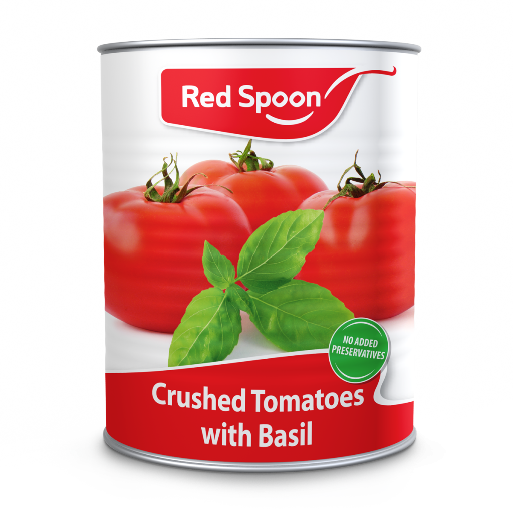 crushed tomatoes basil a2-5 can