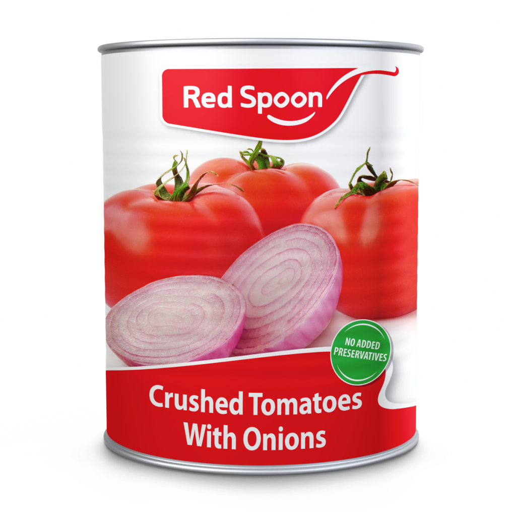 crushed tomatoes with onions a2-5 can