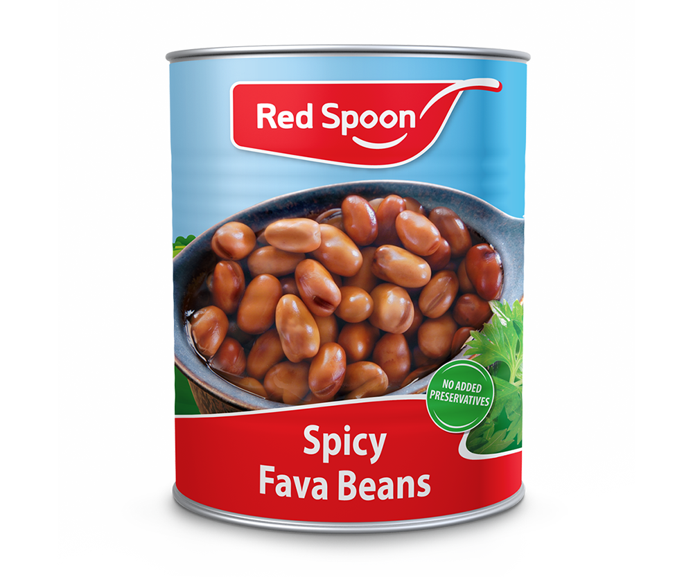 spicy fava bean